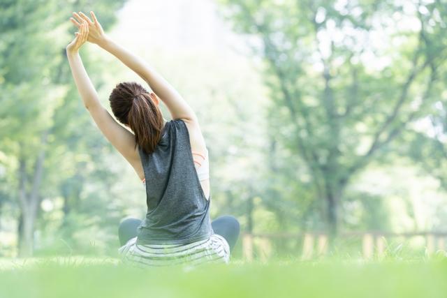 自律神経を整え、腸の働きを活性化させます